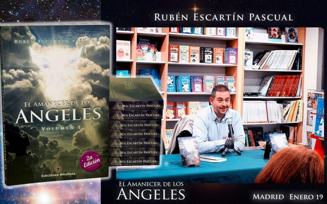 """Ya disponible en Youtube la presentación del manual """"El Amanecer de los Ángeles"""" (Madrid enero'2019)"""