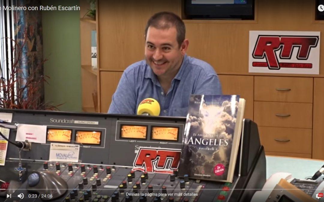 Entrevista de Justo Molinero a Rubén Escartín en Radio Tele Taxi